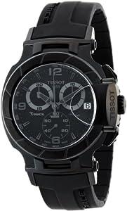 Tissot Men's T0484173705700 T-Race Analog Display Swiss Quartz Black Watch