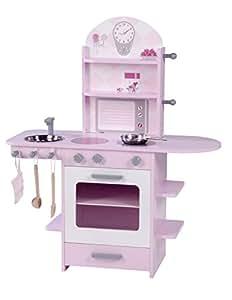 Roba 98928 cucina per bambini rosa giochi e - Cucina bambini amazon ...