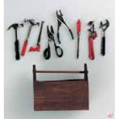 EFCO-Miniatur-Werkzeugkasten-mit-Werkzeug-5-x-4-cm-9-Teile-mehrfarbig