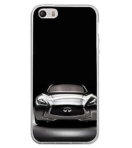 Luxury car 2D Hard Polycarbonate Designer Back Case Cover for Apple iPhone 5