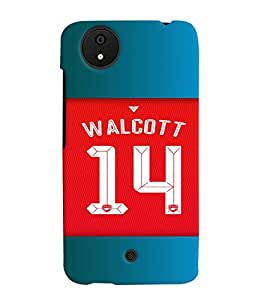 PRINTVISA Football Walcott Case Cover for Micromax Canvas Android A1