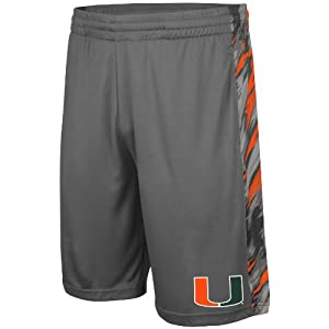 Buy Miami Hurricanes Adult Mustang Shorts by Unknown