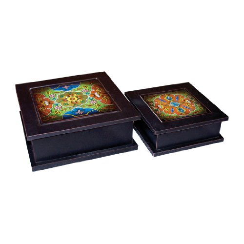 Sterling Industries 51-1305 Set of 2 Bertrand Decorative Keepsake Boxes