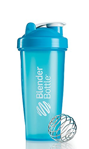 Blenderbottle Classic Shaker Bottle, 28-Ounce, Aqua/Aqua