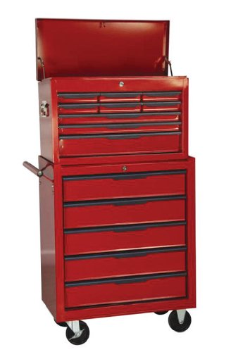 HILKA 14 Drawer Combination Tool Chest With Ball Bearing Slides C314BBS