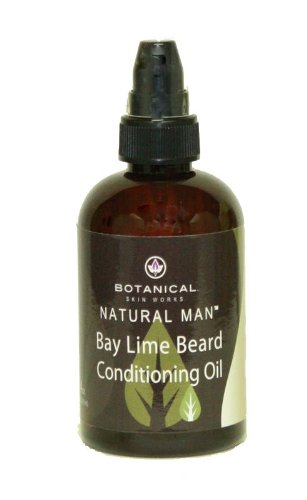 Botanical Skin Works Men's Bay Lime Beard Conditioning