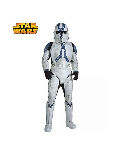 Kid's Deluxe Clone Trooper Star Wars Costume