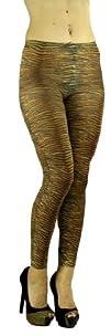 ToBeInStyle Womens Elastic Footless Elastic Leggings