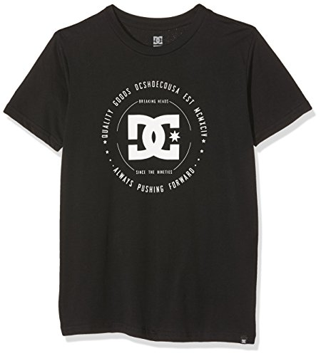 Rebuilt DC Shoes 2-Maglietta a maniche corte per schermo, colore: nero, taglia: M