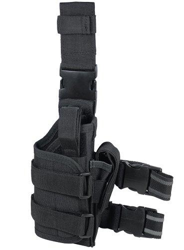Buy Cheap UTG Adjustable Right Handed Leg Holster for Pistol, Black