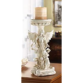 12 GUARDIAN ANGEL WEDDING CANDLEHOLDER CENTERPIECES
