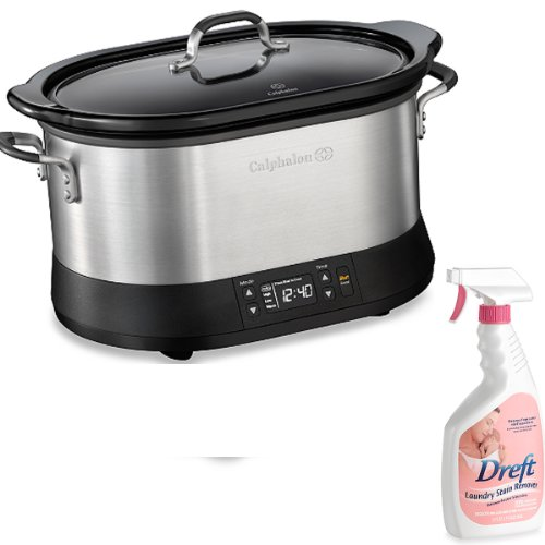 The Set of 22-ounce Laundry Stain Remover with Calphalon® 7-quart Digital Slow Cooker