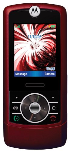 Motorola Rizr Z3 Unlocked Cell Phone With 2 Mp Camera, Mp3/Video Player, Microsd Slot--International Version With No Warranty (Red)