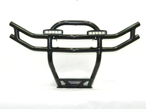 2008-2010 Polaris Rzr Front Bumper W/ Led Lights (Black)
