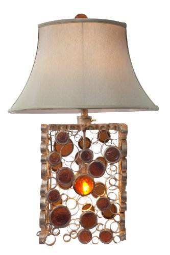 Varaluz 165T02KO 2 Light Fascination Table Lamp