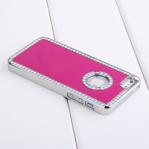 excellent-style-luxury-bling-diamond-crystal-hard-glitter-case-cover-shell-hot-pink-for-iphone-5-5s-