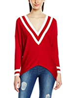 MAIOCCI Blusa (Rojo / Blanco)