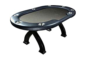 X2 Mini Convertible Dining & Poker Table - Suited Speed Cloth (Black Suited Speed Cloth)