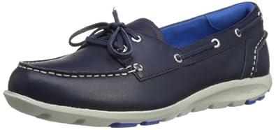 Rockport Womens TWZ Il Boat Shoes V77234 Peacoat 7 UK, 41 EU, 9.5 US, Regular