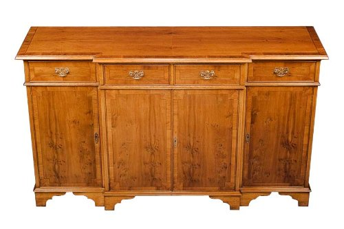 Cheap Yew Antique Style Breakfront Sideboard (B008Z299I4)