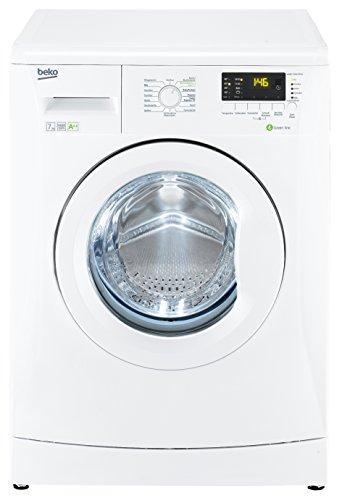 Beko WMB 71632 PTEU Waschmaschine Frontlader / A++A / 194 kWh/Jahr / 9020 Liters/Jahr / 1600 UpM / 7 kg / Multifunktionsdisplay / 15 Waschprogramme / Pet Hair Removal / weiß