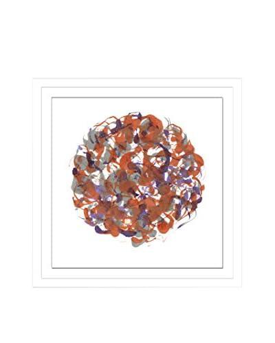 Shirley Williams Core Brick IX Artwork on Framed Paper