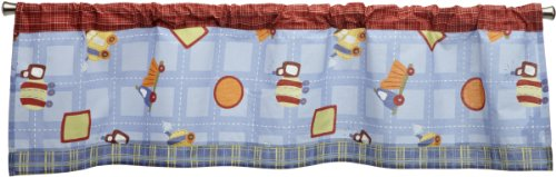 CoCo & Company Road Work Window Valance (Discontinued by Manufacturer)