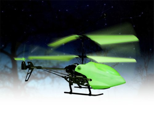 Protocol Illuminator 3 Ch Remote Control Helicopter - Glows in the Dark