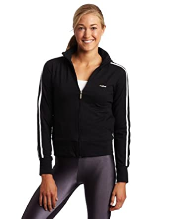 Reebok Women's Track Jacket,Black,Medium