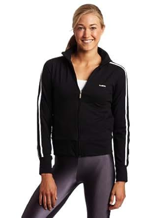 Reebok Women's Track Jacket,Black,Medium