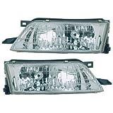 Nissan Maxima Headlight OE Style Replacement Headlamp Driver/Passenger Pair New