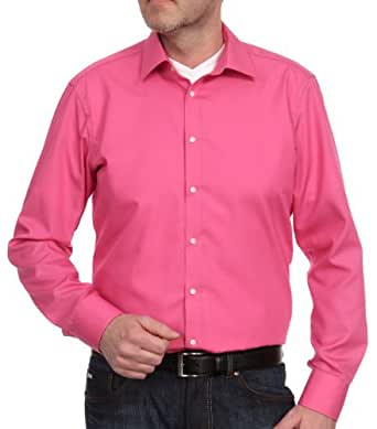 Venti Herren Businesshemd Slim Fit 001480/47, Gr. 37, Pink (47 pink)