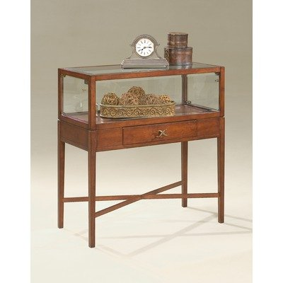 Cheap Plantation Cherry Large Curio Console Table (B003WWK760)