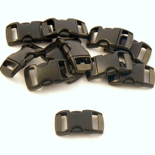"Learn More About 50 - 3/8"" Contoured National Molding Plastic Buckles"
