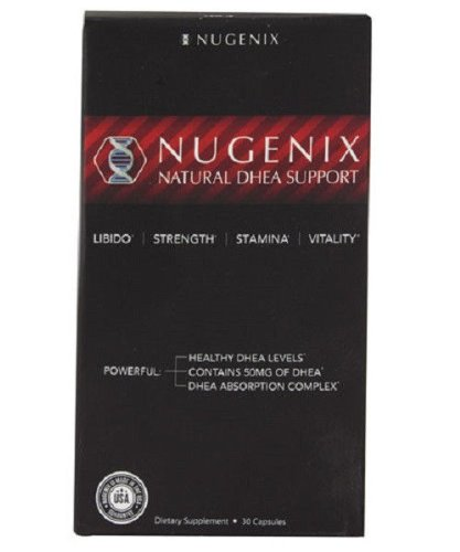 Nugenix Natural Dhea Support - Better Libido Strength Stamina & Vitality 30 Caps.,Good Product High Quality And Quick Shipment For Usa. Address !!