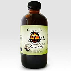 Jamaican Organic Extra Virgin Coconut Oil 4 Oz.