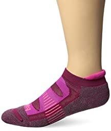 Balega Blister Resist No Show Socks, Fuchsia, Medium