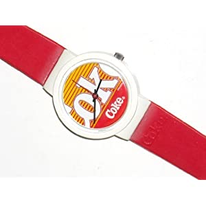 Swatch Coke Label Plastic Swiss Quartz Lady's Watch