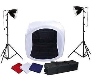 Cube de lumière 80*80*80cm softbox pliable avec éclairage complet pour studio