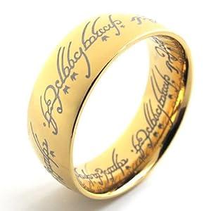 konov jewellery lord of rings style stainless steel