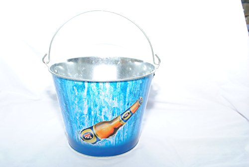 fosters-lager-beer-bucket-galvanised-tin-with-handle