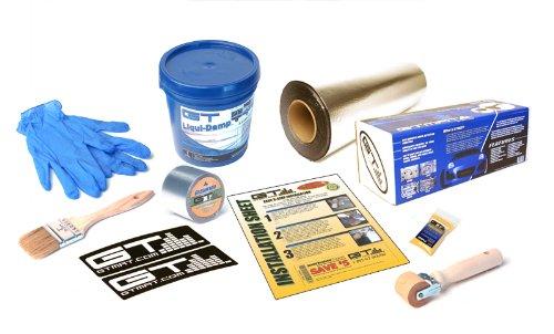 GTMat 50sqft PRO Sound Deadener Adhesive Mat