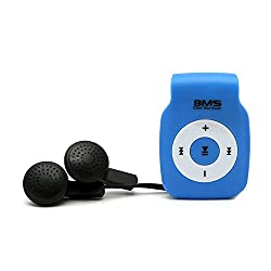 BMS Smart MP3 Music Player With 4GB Micro SD Card (Blue)