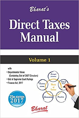 Direct Tax Manuals