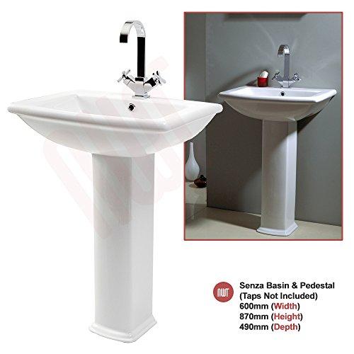 Elegant Senza Basin u Pedestal