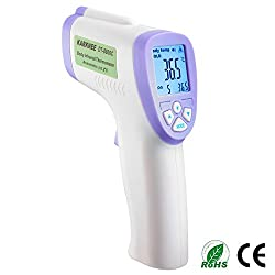 Premium Multi Function Forehead Infrared Thermometer - For Baby and Adult Non Touch / Non Contact and Automatic (High Accuracy)