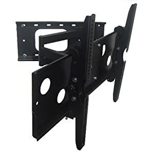 high quality intecbrackets brand extendable arm tv wall mount bracket with tilt and swivel for. Black Bedroom Furniture Sets. Home Design Ideas