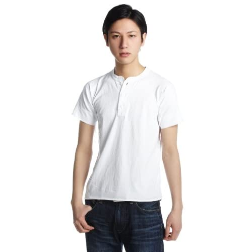 (ヘルスニット)HEALTHKNIT Henry Short Sleeve #906S  WHITE M