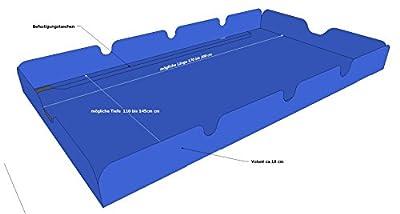 Ersatzdach Hollywoodschaukel Blau von Grasekamp auf Gartenmöbel von Du und Dein Garten