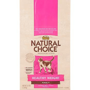 See Natural Choice Chicken Meal and Rice Formula Healthy Weight Adult Cat Food, 15-1/2-Pound